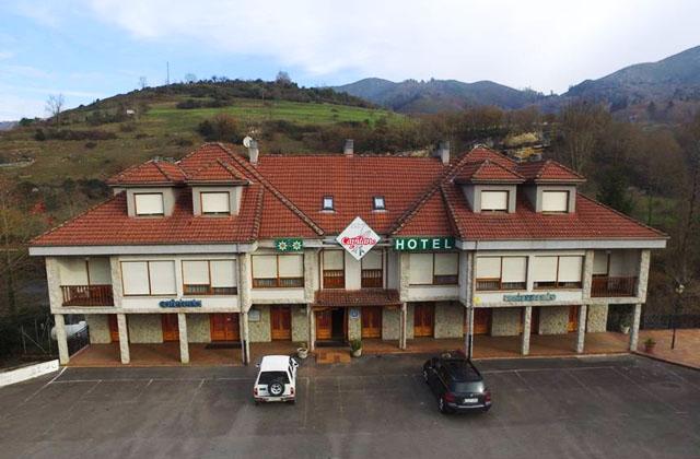 hotel el capitan, hotel en cangas de onis