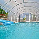 hotel villa de mestas piscina